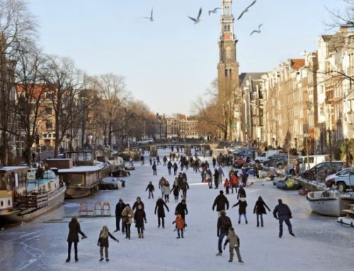 Record low temperatures in Netherlands